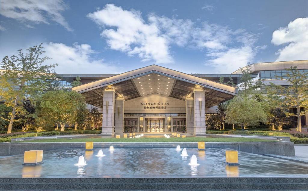 Hotel Gran Melia Xi An China Booking Com