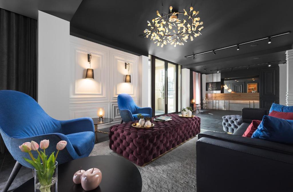 Część wypoczynkowa w obiekcie Hotel Del Corso