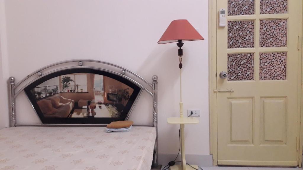 Phòng Giường Đôi với Nhà vệ sinh Chung