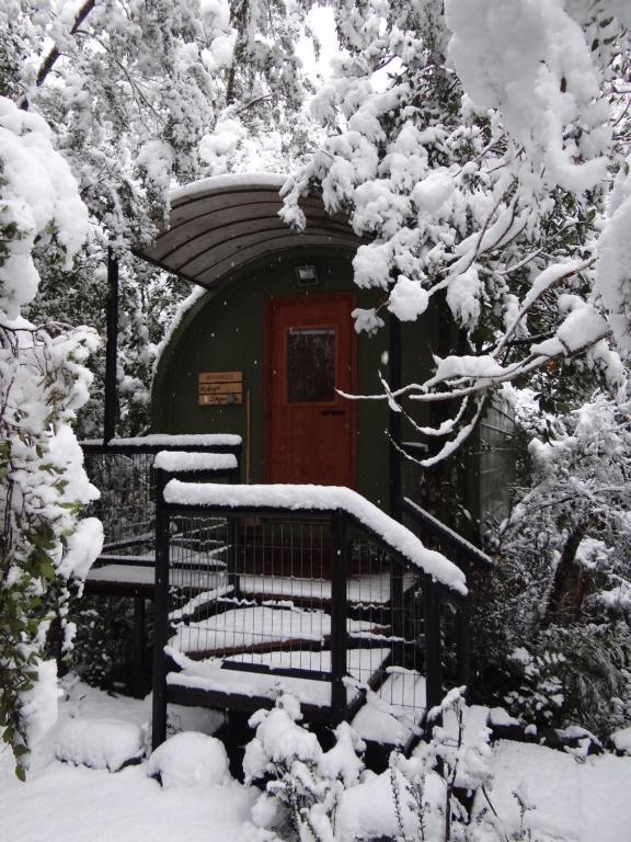 Huincaterra en invierno