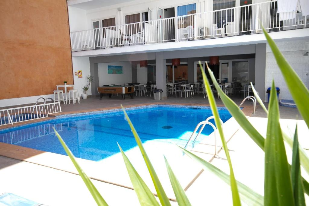 The swimming pool at or near Hotel Teide