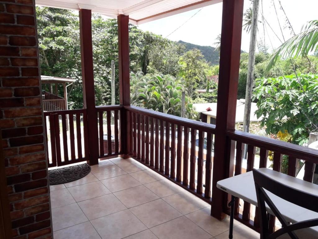 A balcony or terrace at Balata Casa Splendour