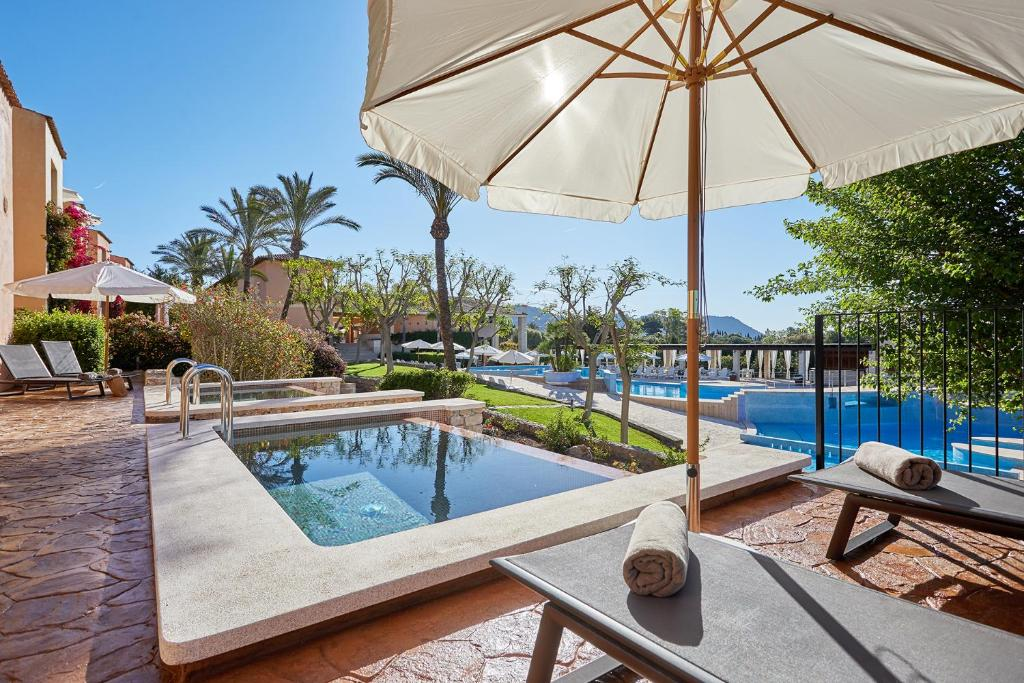 The swimming pool at or near SENTIDO Pula Suites Boutique Resort