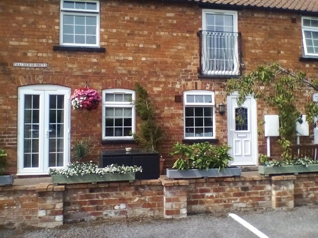 The Lincolnshire Poacher Inn in Metheringham, Lincolnshire, England