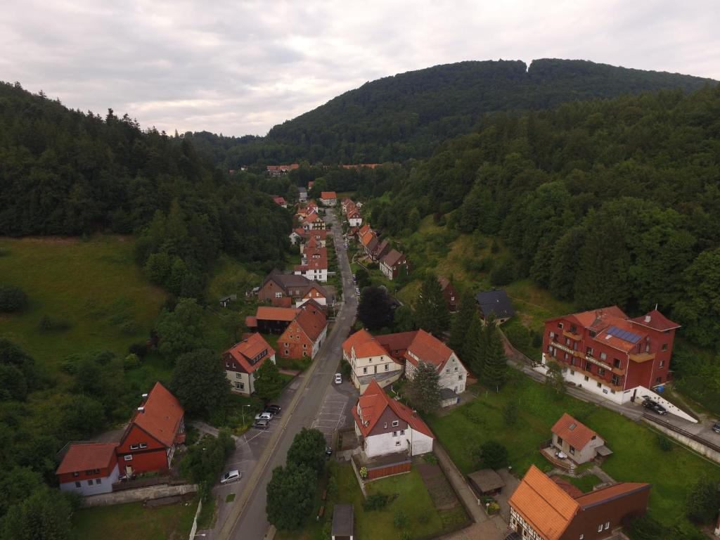 A bird's-eye view of Hotel-Pension Waldhaus