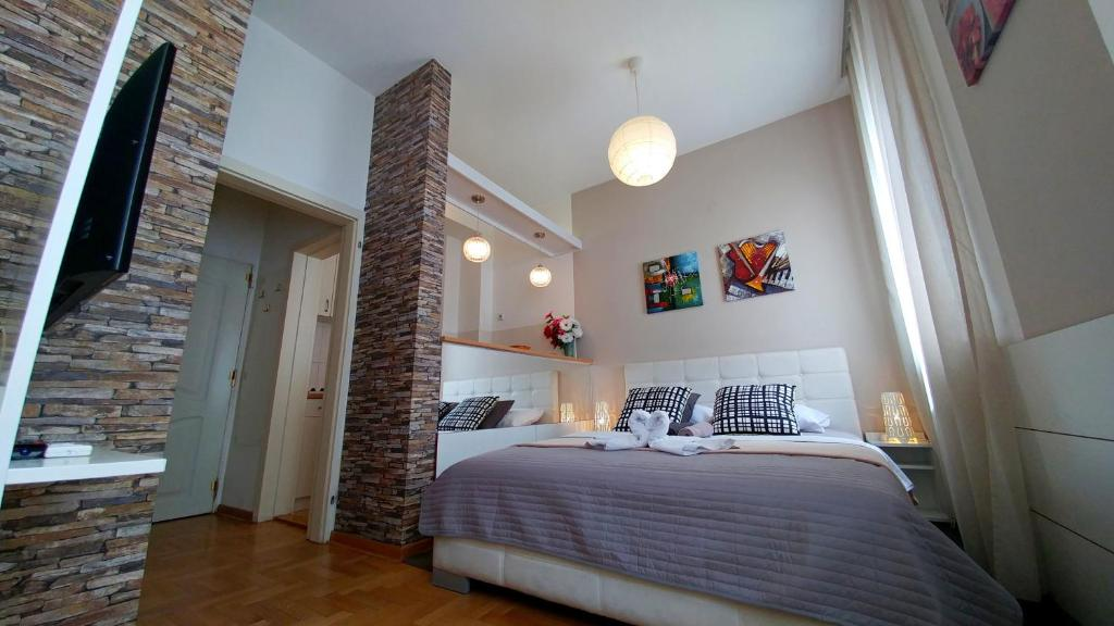 Apartment Arena New Belgrade Tosin Bunar Serbia Booking Com