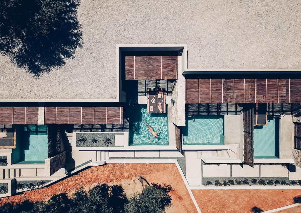Plan piętra w obiekcie Monastery Estate Retreat