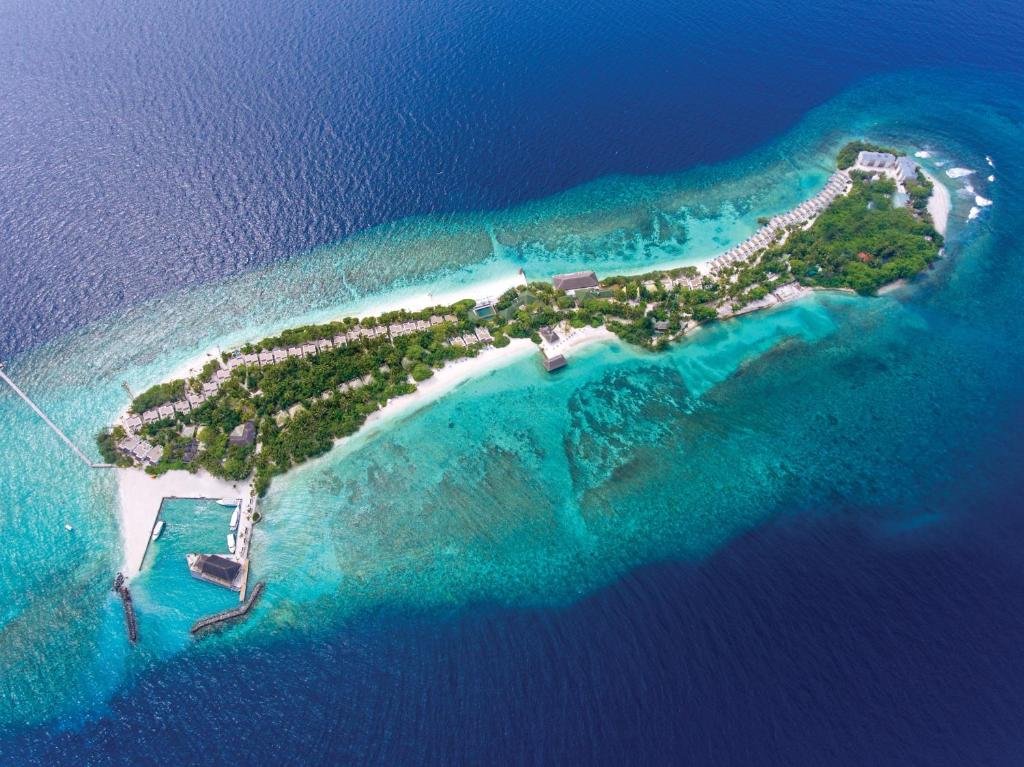 A bird's-eye view of OBLU by Atmosphere at Helengeli - All Inclusive