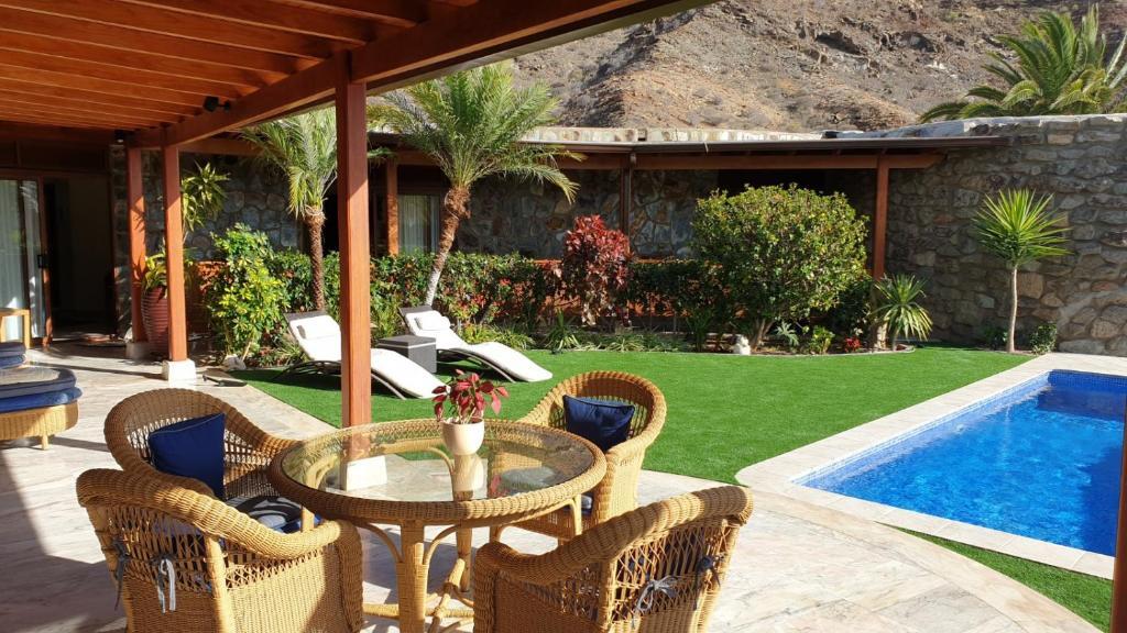 Villa Luxe Tauro Mogan, Puerto Rico, Spain - Booking.com