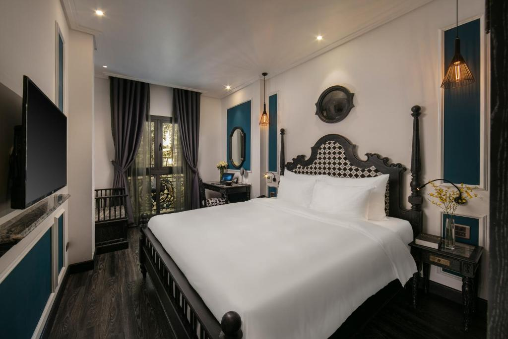 Phòng Suite Junior Giường Đôi Nhìn Ra Cảnh Thành Phố