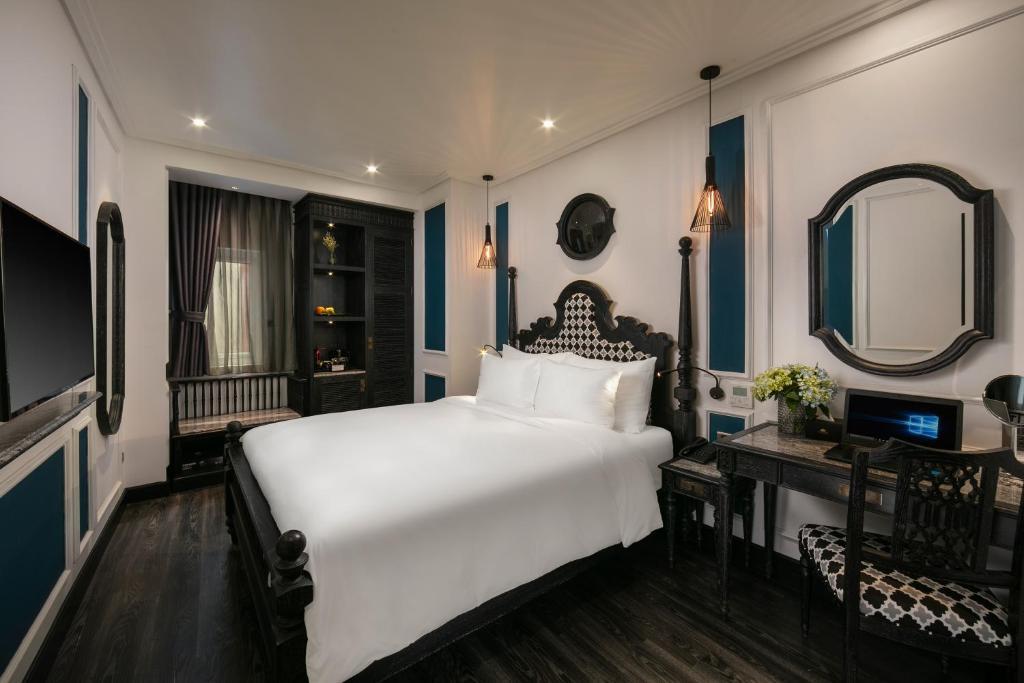 Phòng Deluxe Giường Đôi - Có Cửa Sổ