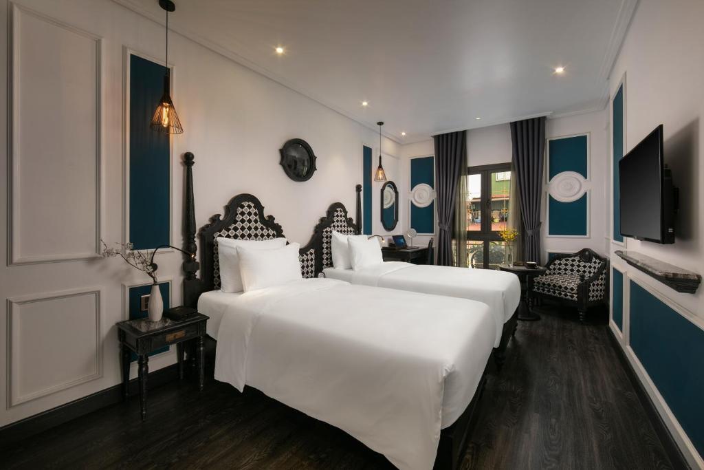 Phòng Suite Junior 2 Giường Đơn Nhìn Ra Cảnh Thành Phố