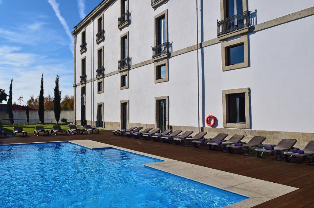 The swimming pool at or near Pousada De Viseu