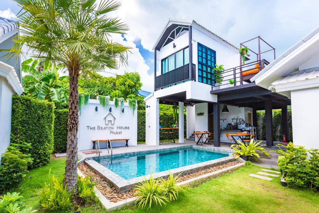 The swimming pool at or near The Seaton House Phuket