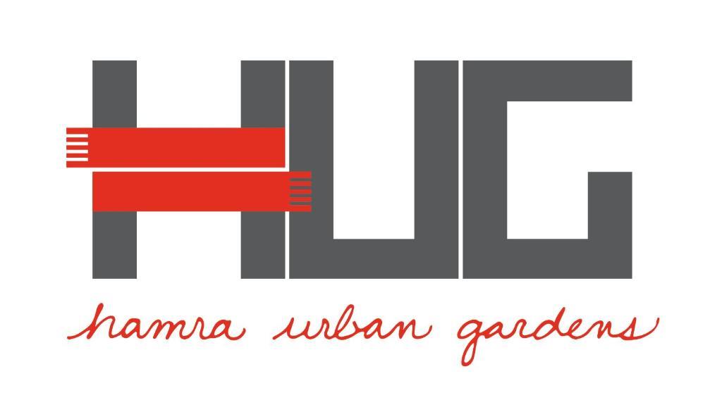The floor plan of Hamra Urban Gardens