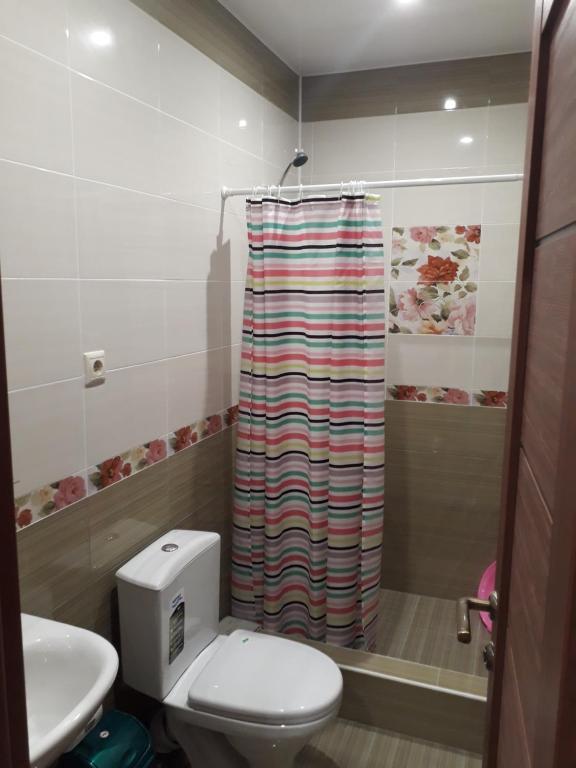 A bathroom at Guest House Bereg