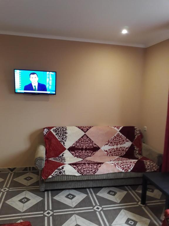 A seating area at Guest House Bereg