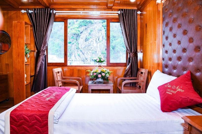 Phòng Có Giường Cỡ Queen Nhìn Ra Biển