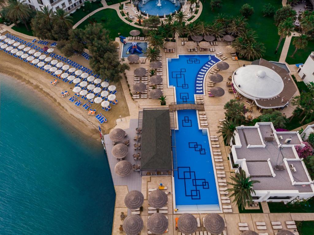 A bird's-eye view of Samara Hotel Bodrum All Inclusive