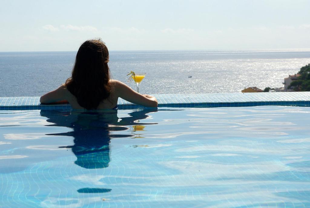 The swimming pool at or near Hotel BlauMar Llafranch