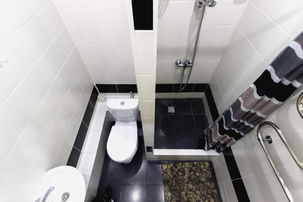 A bathroom at Hostel U City