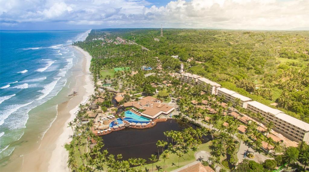 Uma vista aérea de Cana Brava All Inclusive Resort