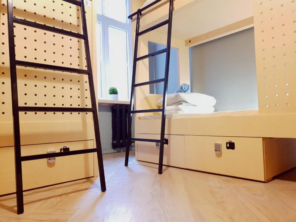 Um banheiro em Next Generation Hostel