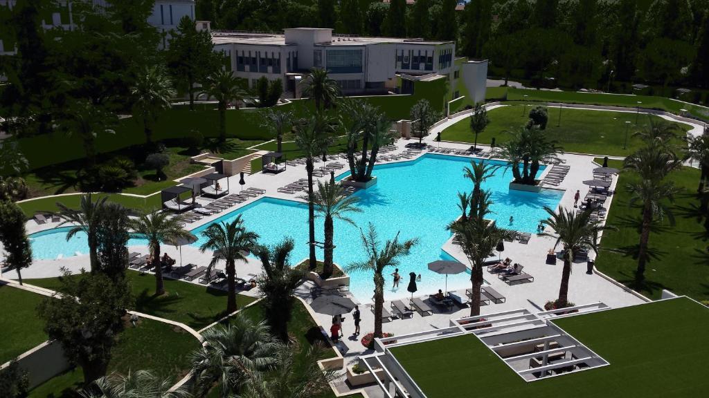 Pogled na bazen u objektu Ergife Palace Hotel ili u blizini