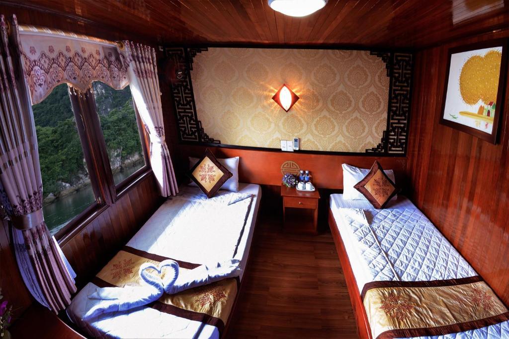 Phòng có Giường đôi hoặc 2 Giường đơn - 2 Ngày 1 Đêm