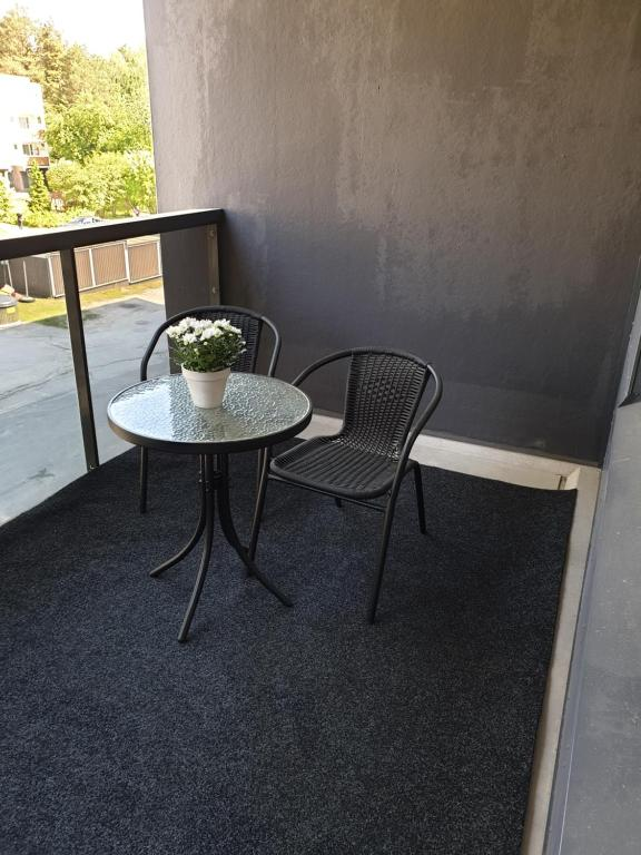 A balcony or terrace at Northside apartment 2