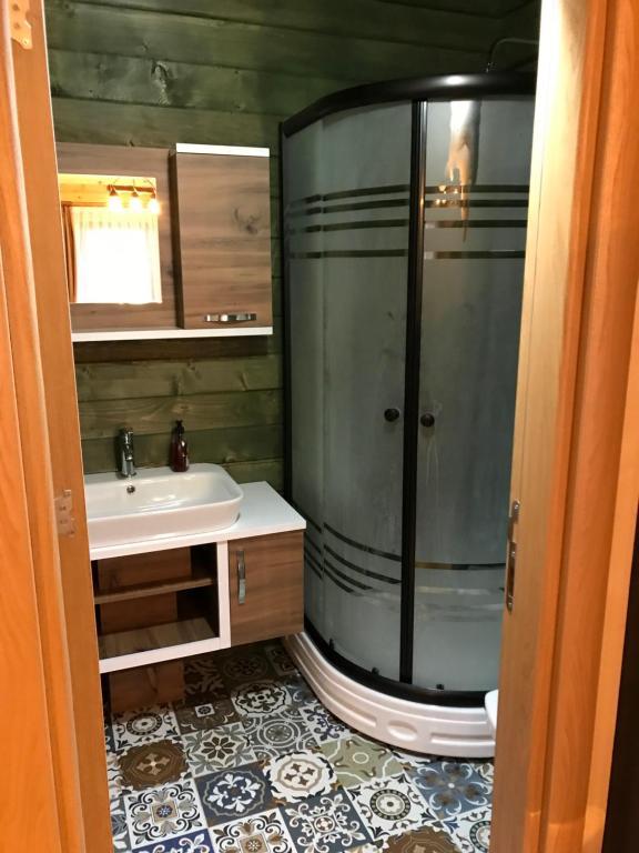 حمام في Ayder Villa Babil