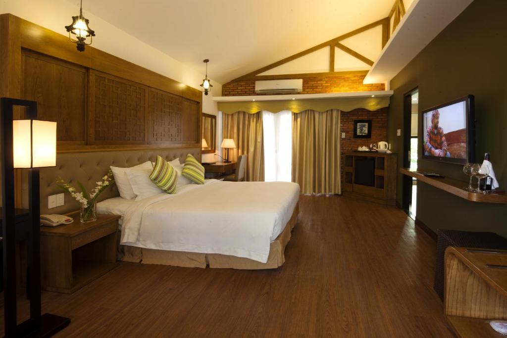 Phòng Deluxe Giường Đôi/2 Giường Đơn Nhìn ra Vườn - Khu vực Bãi biển