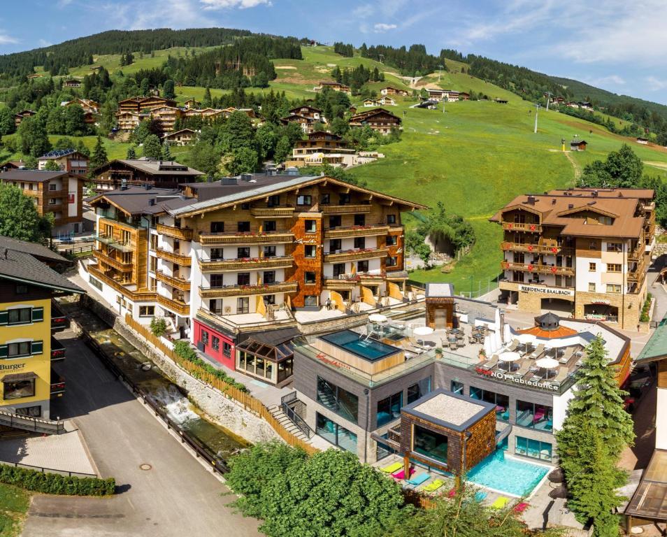 Blick auf Hotel Kendler aus der Vogelperspektive