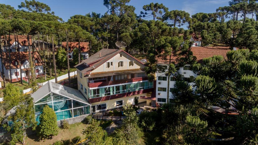Uma vista aérea de Hotel Golden Park Campos