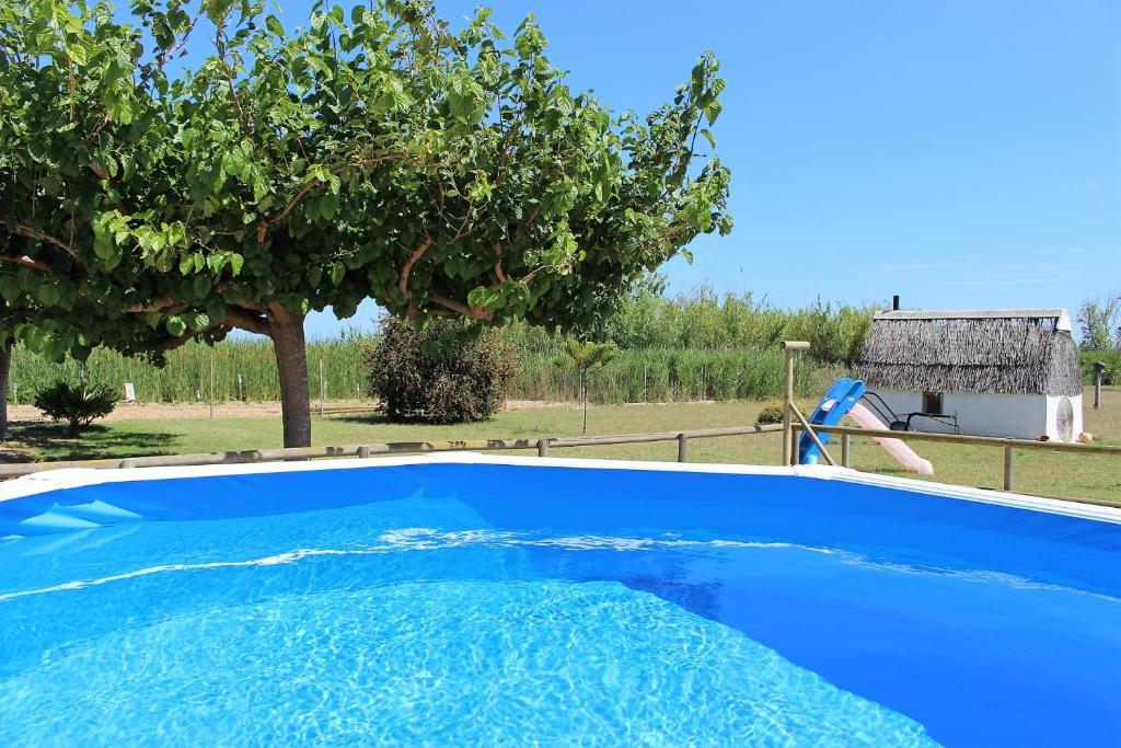 The swimming pool at or near La Fonsa