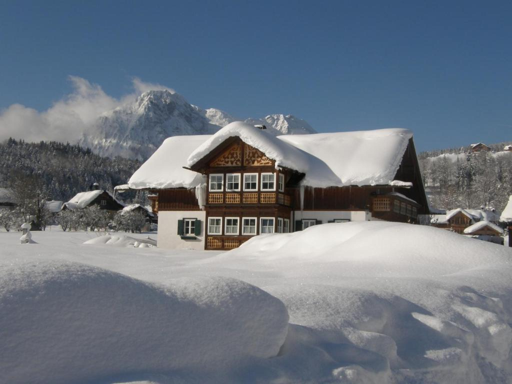 Haus Sonja during the winter