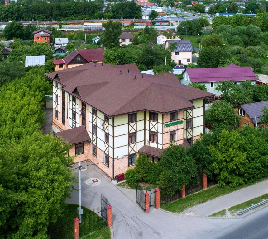 A bird's-eye view of Hotel Dom Uchenykh