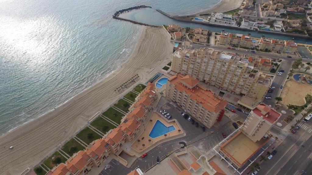 A bird's-eye view of Aparthotel La Mirage