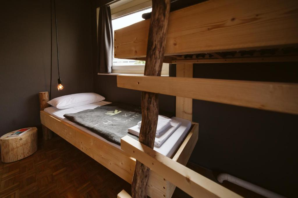 A bunk bed or bunk beds in a room at The Keep Eco Residence