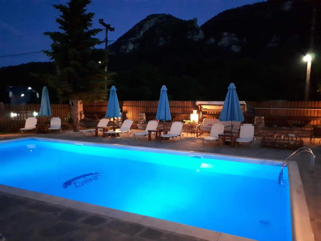 The swimming pool at or close to Ziakas Rooms