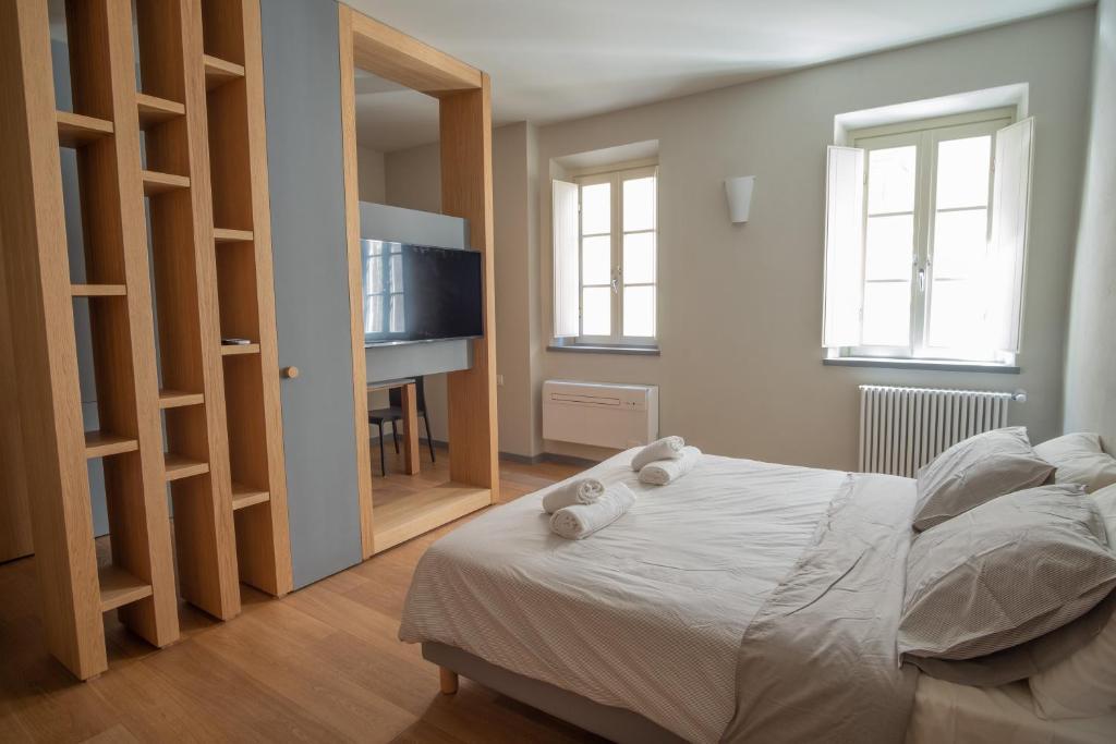 Cama ou camas em um quarto em Chill in Tuscany