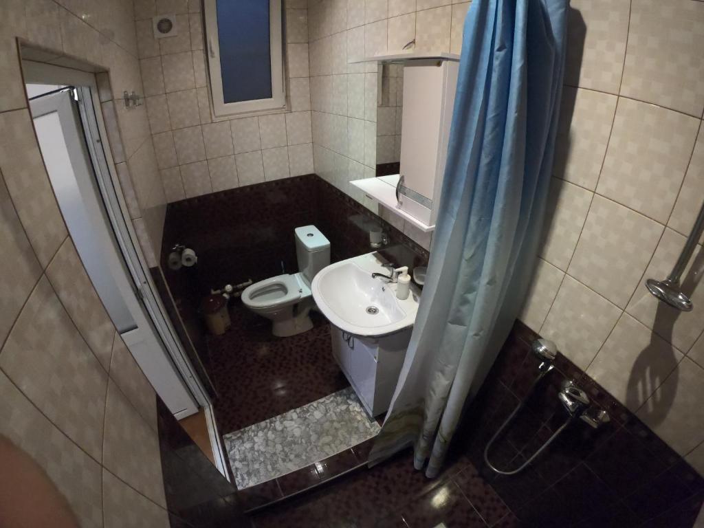 Ванная комната в Гостевой Дом Август
