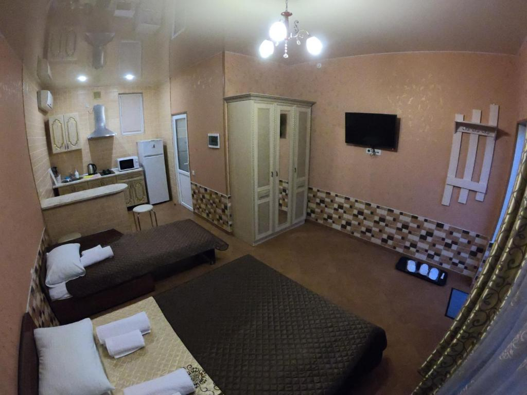 Гостиная зона в Гостевой Дом Август
