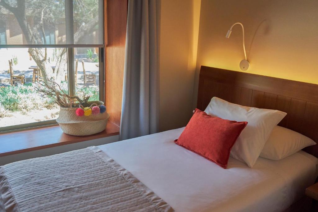 Cama o camas de una habitación en Hotel La Casa de Don Tomás