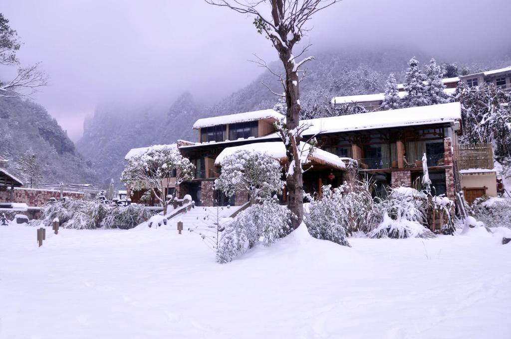 Homeward Mountain Resort during the winter