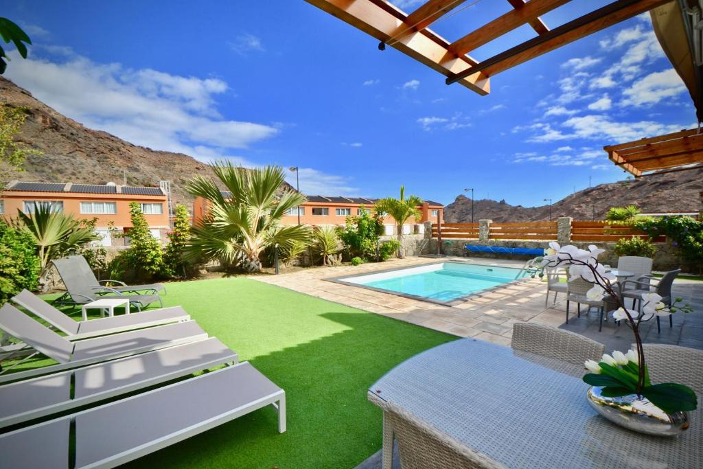 Villa Diana with private swimming pool in Tauro, Mogán ...