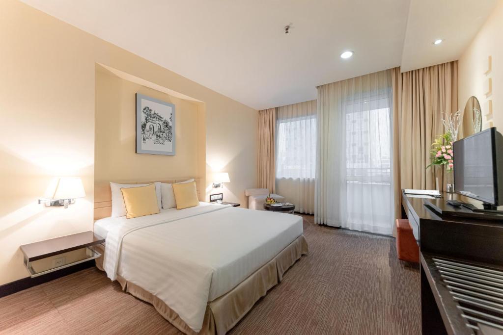 Phòng Deluxe Giường đôi có Tầm nhìn