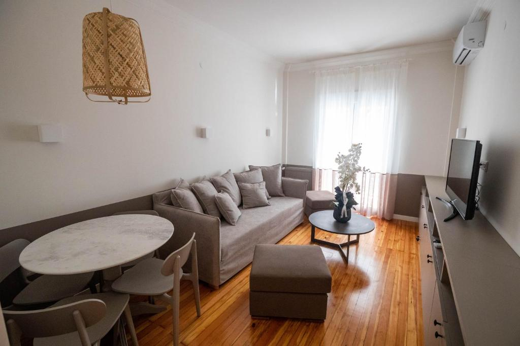 Гостиная зона в Apartment Agias Sofias Square