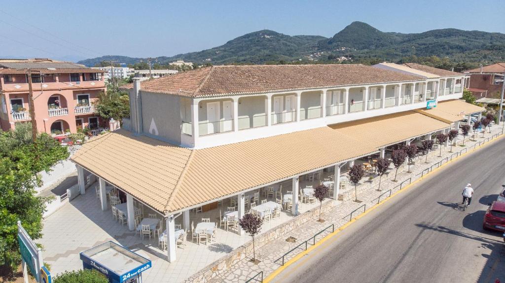 Hotel Alkionis с высоты птичьего полета