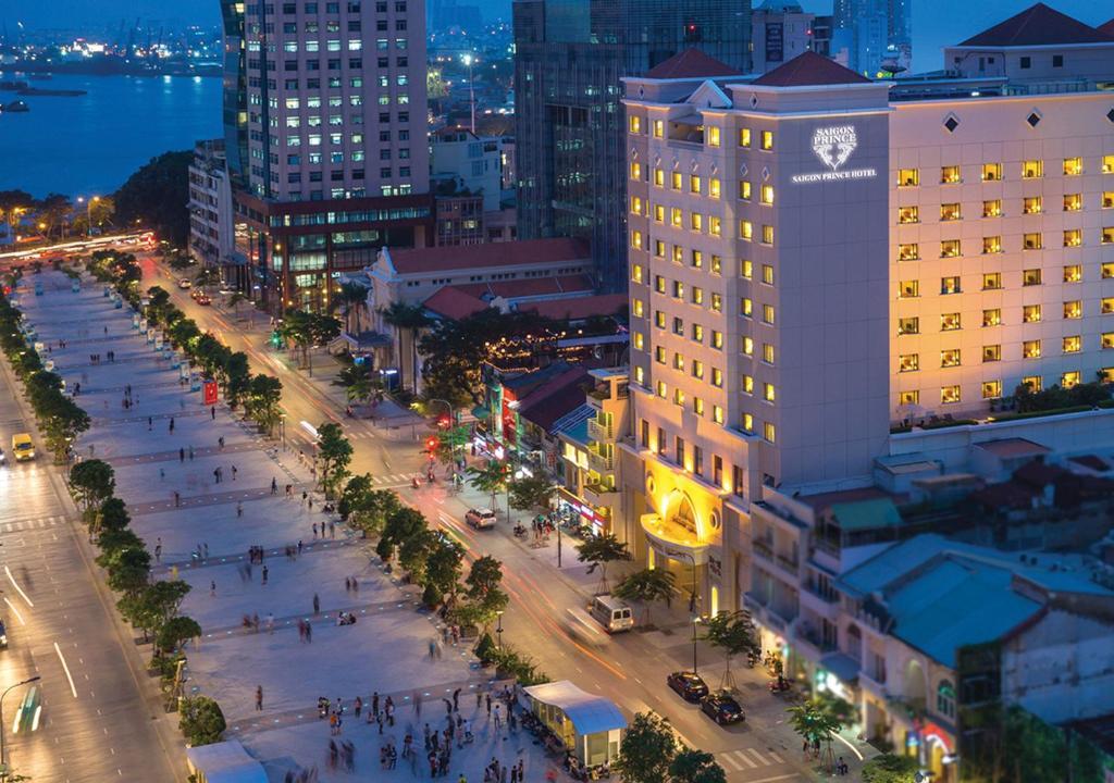 Saigon Prince Hotel a vista de pájaro
